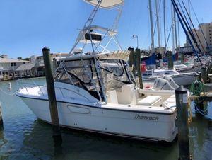 Used Shamrock 290 Express Sports Fishing Boat For Sale