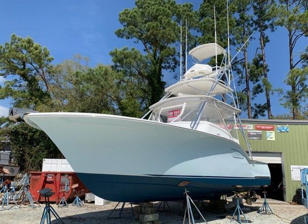 Used Custom Carolina Sea Tek 36 Express Sports Fishing Boat For Sale