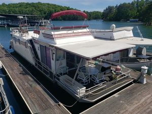 Used Sumerset Houseboats 60X14 House Boat For Sale