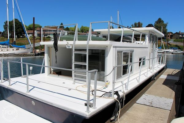 Used Silver Queen 35 House Boat For Sale