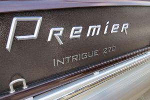 New Premier Intrigue RF 270 Pontoon Boat For Sale