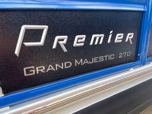New Premier Grand Majestic 270 Pontoon Boat For Sale