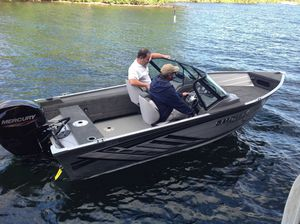 New Smoker Craft 162 Pro Angler Ski and Fish Boat For Sale