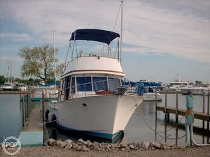 Used Marine Trader 34 Double Cabin Trawler Boat For Sale