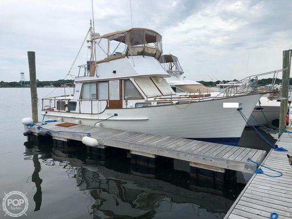 Used Island Gypsy 36 Aft Cabin Trawler Boat For Sale