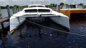 Used Custom Power Catamaran Boat For Sale