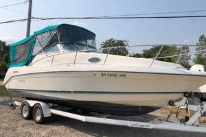 Used Rinker 265 Fiesta Vee Power Cruiser Boat For Sale