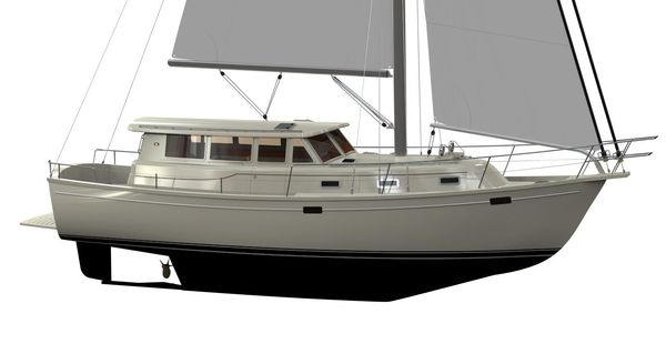 New Island Packet 42 Motor Sailer Motorsailer Boat For Sale
