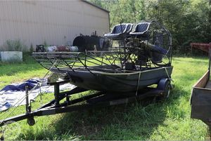 Used Bandit Dixon Air Boat For Sale