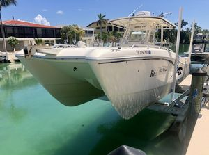 Used World Cat 330 TE Center Console Fishing Boat For Sale