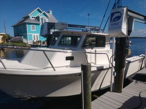 Used Parker 2520 SL Sport Cabin Pilothouse Boat For Sale