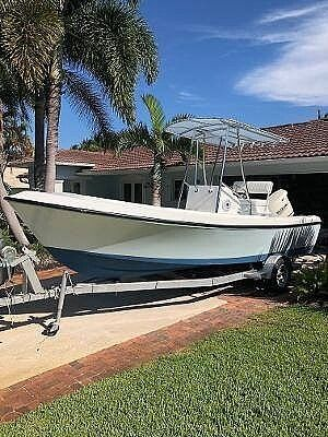Used Aquasport Osprey 200 Center Console Fishing Boat For Sale