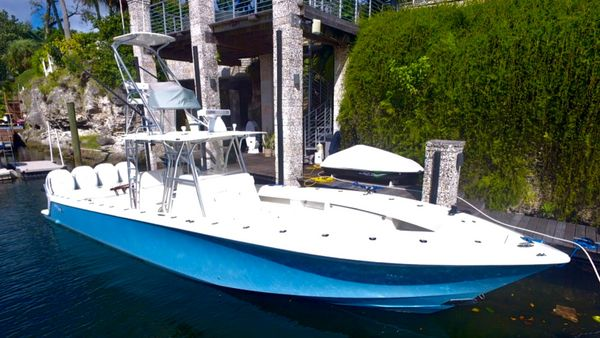 Used Seavee 390Z Convertible Fishing Boat For Sale