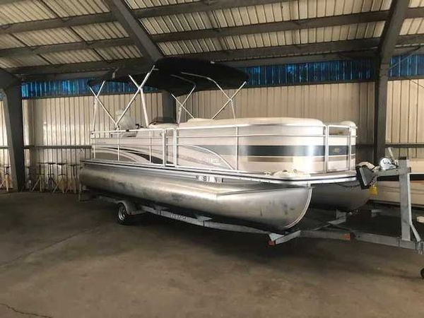 Used Harris 220 Classic Pontoon Boat For Sale