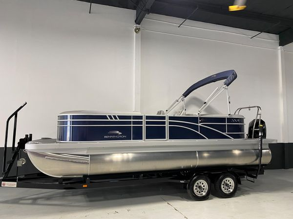 New Bennington 22 SSRX SPS Pontoon Boat For Sale