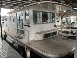 Used Gibson 12 x 42 House Boat For Sale