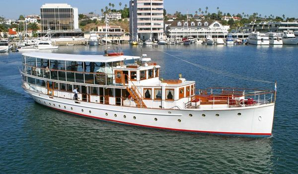 Used Custom Fantail MY Commercial Boat For Sale