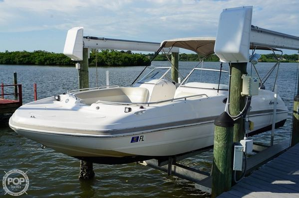 Used Hurricane 237 Sundeck Deck Boat For Sale