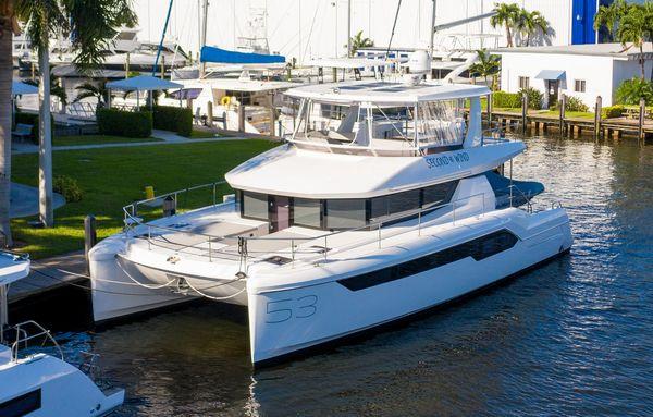 Used Leopard 53 Powercat Power Catamaran Boat For Sale