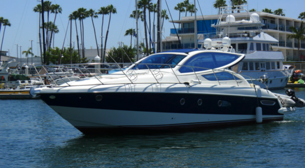 Used Cranchi Mediterranee 43 HT Express Cruiser Boat For Sale
