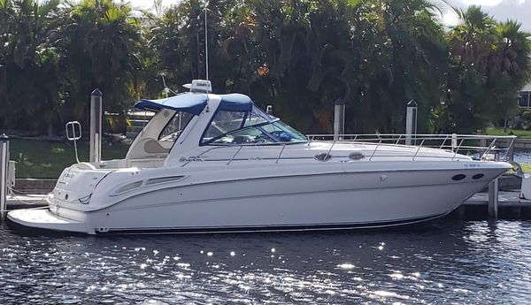 Used Sea Ray 380 Sundancer With Diesels Express Cruiser Boat For Sale