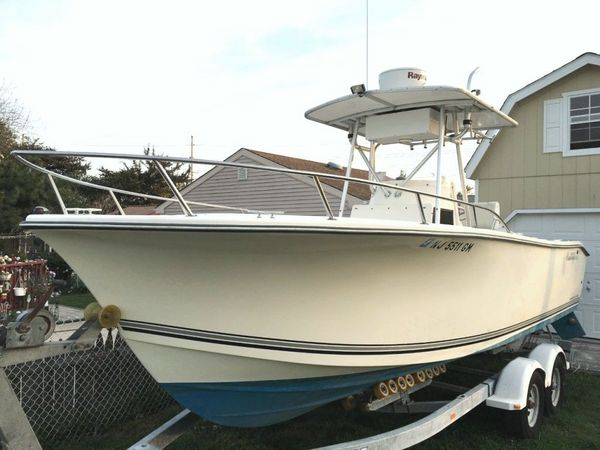 Used Kencraft 235 Challenger Center Console Fishing Boat For Sale