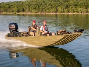 New Lowe Roughneck 1860 Tunnel Jet Freshwater Fishing Boat For Sale