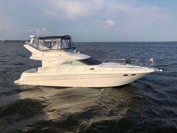 Used Sea Ray Sedan Bridge 400 Convertible Fishing Boat For Sale