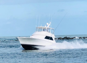 Used Viking 50 Convertible w/ Mezzanine Sports Fishing Boat For Sale