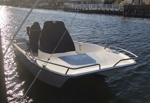 Used Caracal 180 CC Catamaran Boat For Sale