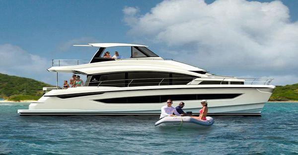 New Aquila 54 Mega Yacht For Sale