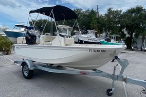Used Boston Whaler 17 Montauk Sports Fishing Boat For Sale
