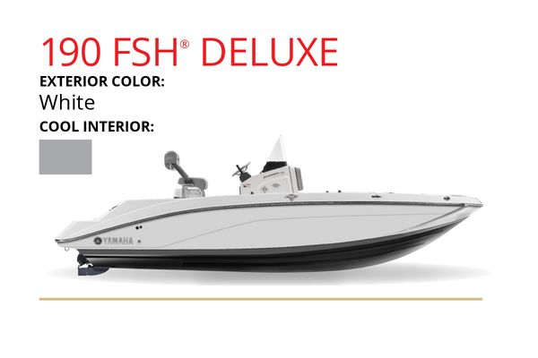 New Yamaha Boats 190 FSH Deluxe Jet Boat For Sale