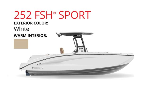 New Yamaha Boats 252 FSH SPORT Jet Boat For Sale