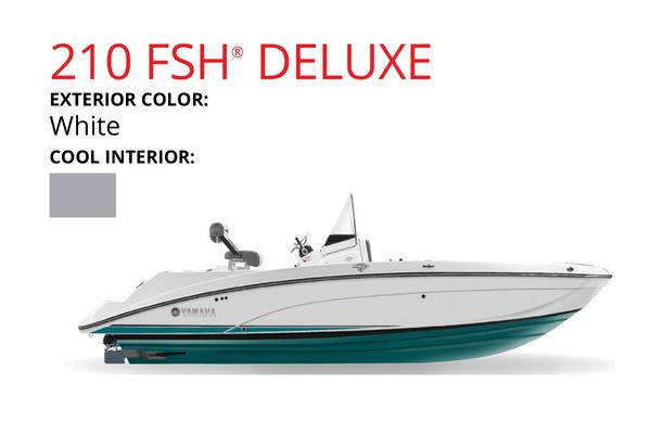 New Yamaha Boats 210 FSH Deluxe Jet Boat For Sale