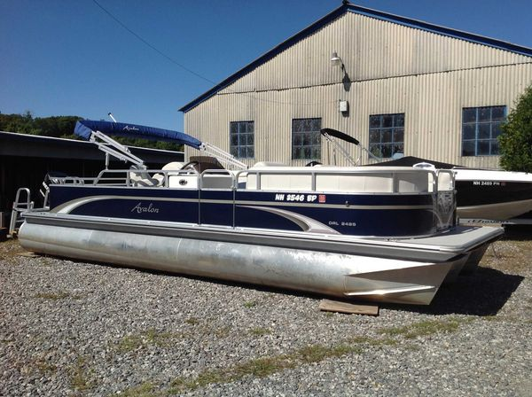 Used Avalon Catalina Drl 2485 Pontoon Boat For Sale