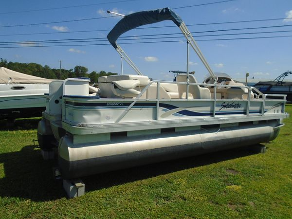 Used Sweetwater 2020 FCXL Pontoon Boat For Sale