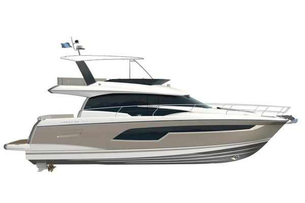 New Prestige 520 Fly Flybridge Boat For Sale