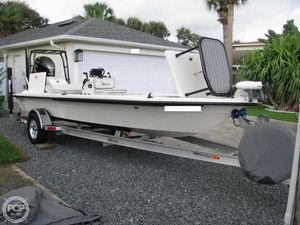Used Maverick Mirage 18 HPX-V Flats Fishing Boat For Sale