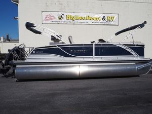 New Godfrey Monaco 235 SFL iMPACT 29 in. Center Tube Pontoon Boat For Sale