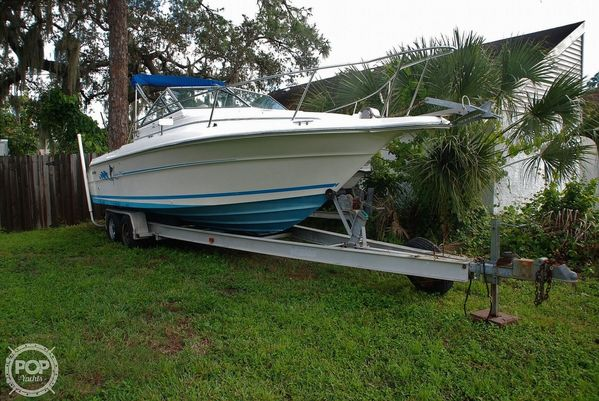 Used Sea Ray Laguna 24 Flush Deck Cuddy Walkaround Fishing Boat For Sale