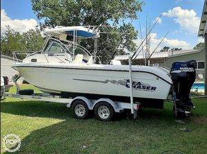 Used Sea Chaser 2400 Offshore Series Walkaround Fishing Boat For Sale