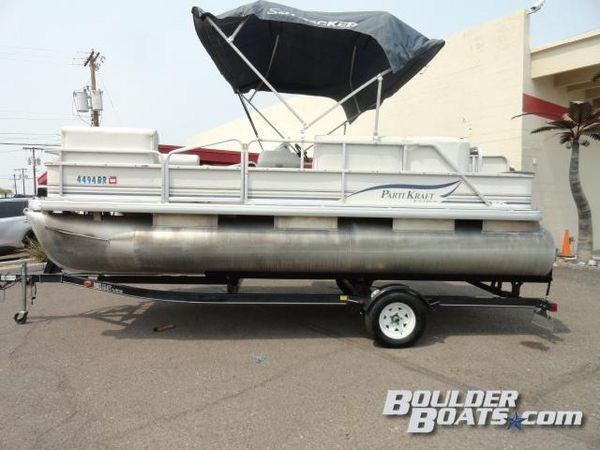 Used Parti Kraft 180 FC Pontoon Boat For Sale