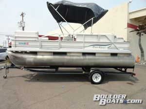 Used Parti Kraft 180 FC Pontoon Boat For Sale