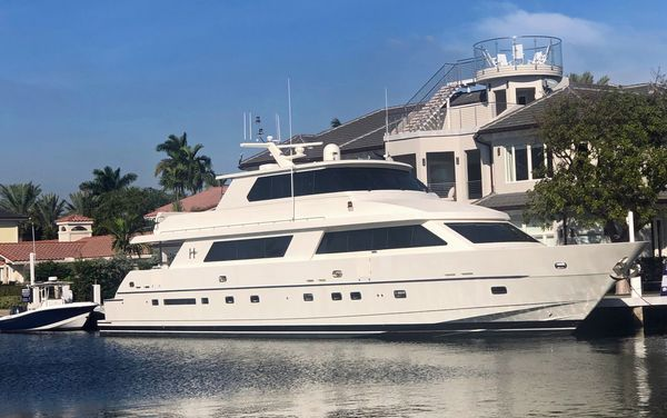 Used Hargrave Enclosed Bridge Motor Yacht For Sale