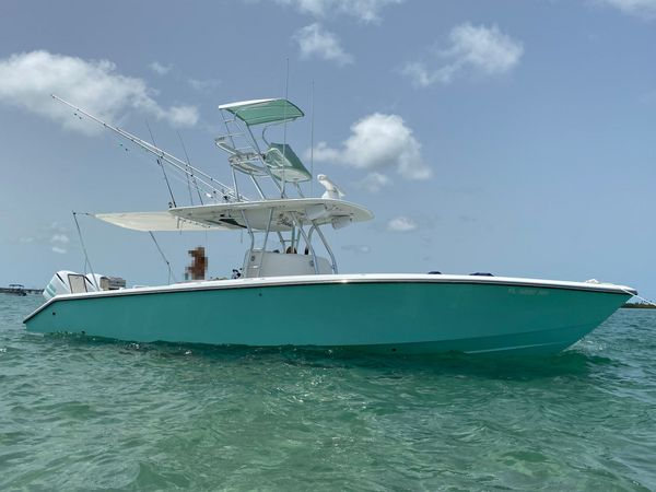 Used Venture 34CC Center Console Fishing Boat For Sale