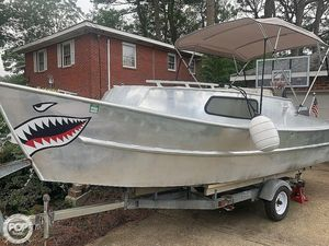 Used Winninghoff 20 Mariner Aluminum Fishing Boat For Sale