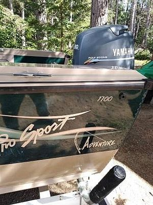 Used Lund Pro Sport 1700 Aluminum Fishing Boat For Sale