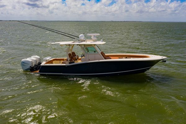 Used Scout 350 Lxf Saltwater Fishing Boat For Sale