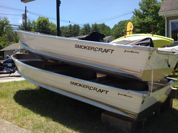 New Smoker Craft 12 Canadian Ski and Fish Boat For Sale